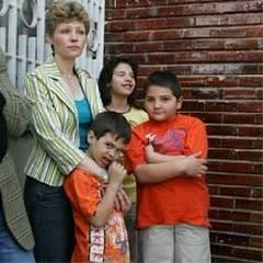 Adela si copiii